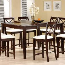Butterfly Leaf Dining Room Table by Coaster Furniture 5846 Pryor Counter Height Table In Cappuccino
