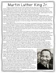 biography for martin luther king martin luther king jr biography freebie by mrs williams tpt