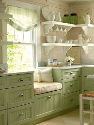 Green Country Kitchen Favorite Colored Kitchen Cabinets