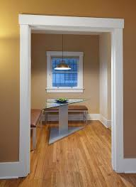 rustic door trim ideas dining room contemporary with white window
