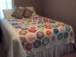 grandmother u0027s flower garden quilt need help