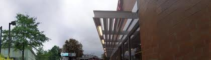 Tiger Awnings by Ecoshade Building Canopies U0026 Custom Commercial Awnings