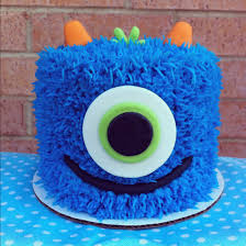 blue monster cake this is the one food pinterest