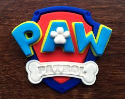 paw patrol cookies etsy