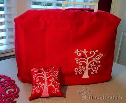 Pin Cushion Tree Sewing Machine Cover Blue Boabab