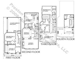 luxury floorplans luxury townhouse floor plans townhome plan home plans