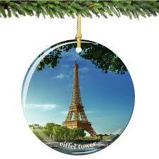 eiffel tower ornament river seine