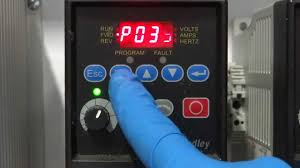 how to adjust speed of allen bradley powerflex4 vfd youtube