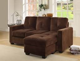 suede sectional sofas homelegance phelps coffee microfiber sectional sofa 9789cf 3lc