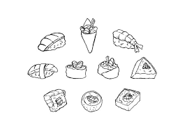sushi free vector art 8989 free downloads