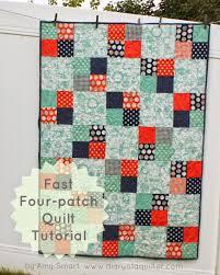 fast four patch quilt tutorial patch quilt quilt tutorials and