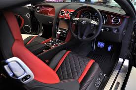 bentley interior 2017 bentley continental gt speed black speed by mulliner limited