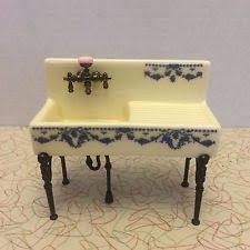 Dollhouse Kitchen Sink by Reutter Original Germany Porcelain Kitchen Sink Dollhouse