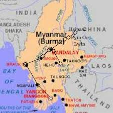 Map Burma The Ultimate Guide To Backpacking In Myanmar Burma