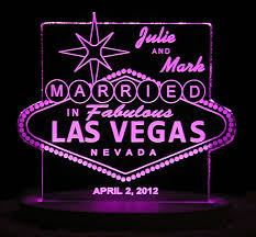 wedding cake las vegas las vegas wedding cake topper personalized acrylic light