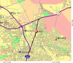 concord california map concord zip code map zip code map