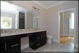 Master Bathroom Vanities Ideas Granite Counter Tops In The Master Bath