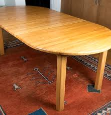 eastern butcher block dining table ebth