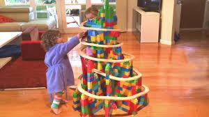 xmas tree in building blocks train video 41 youtube