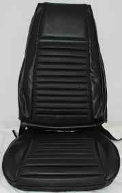 1969 Mustang Black Mustang Mach 1 Bucket Seat Upholstery