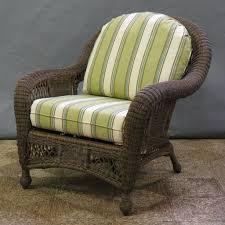Outdoor Wicker Chairs With Cushions Outdoor Wicker Chair Cushions Abc About Exterior Furnitures