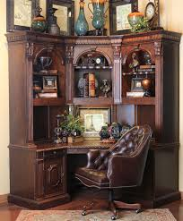 Desk Hutch Bookcase Hemispheres Furniture Store St James Corner Desk By Philippe