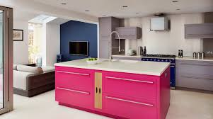 your kitchen design harvey jones kitchens pink linear kitchen from harvey jones