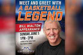 Barnes And Noble Grossmont Center Book Signing Event With Basketball Legend Bill Walton Kson Fm