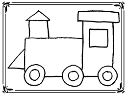 train coloring pages toddlers glum