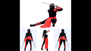 ninja costume for halloween halloween quick d i y ninja youtube