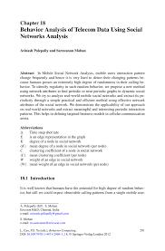 Warehouse Skills Resume Behavior Analysis Of Telecom Data Using Social Networks Analysis