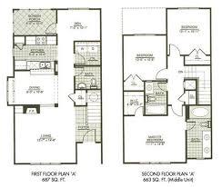modern 2 story house plans floor plan interior bungalow modern builder farmhouse front garage