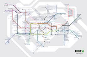 Utd Map The Football Version Of The London Underground U0027tube Map U0027 Who