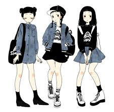 Style Urban - urban fashion anime style http www pixiv net member illust php