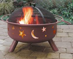 amazon com landmann 28335 big sky stars u0026 moons fire pit