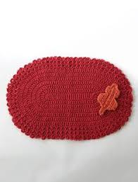 Easy Crochet Oval Rug Pattern Placemats Why Havent U0027 I Thought Of This I Can Never Find Any I