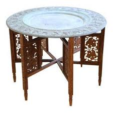 Moroccan Side Table Vintage U0026 Used Moroccan Side Tables Chairish