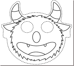 collection kids halloween mask template pictures halloween ideas