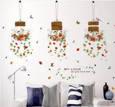 online get cheap flower basket wallpaper aliexpress com alibaba