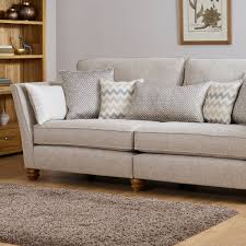 Living Room Wooden Furniture Sofas Gainsborough 3 Seater Sofa In Beige Oak Furniture Land