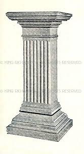 Greek Pedestal Statue Pedestals Floor New Hand Carved Marble Statue Pedestal