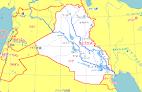 イラク:イラク地図