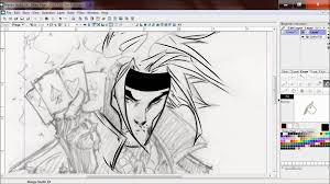 gambit by michael turner inking youtube