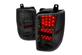 jeep grand cherokee led tail lights spec d tuning jeep grand cherokee 1993 1996 chrome led tail lights