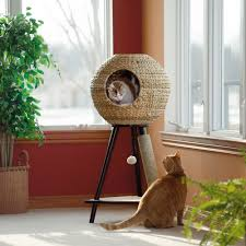 Cat Furniture by Pet Products Natural Sphere Cat Tower 416821 Sauder
