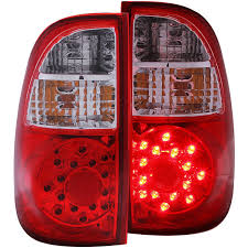 2004 tundra tail light amazon com anzo usa 311117 toyota tundra red clear led tail light