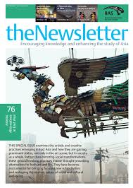 the newsletter 76 spring 2017 by international institute for asian