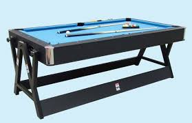 pool and air hockey table dual function spin around pool snooker billiards air hockey table