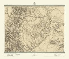 Map New Mexico by Topographical Map Colorado U0026 Mexico 1876