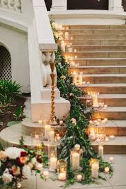 Banister Garland Ideas 169 Best Staircase Wedding Garland Images On Pinterest Stairs